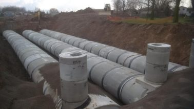 Multiple external wraps on pipe