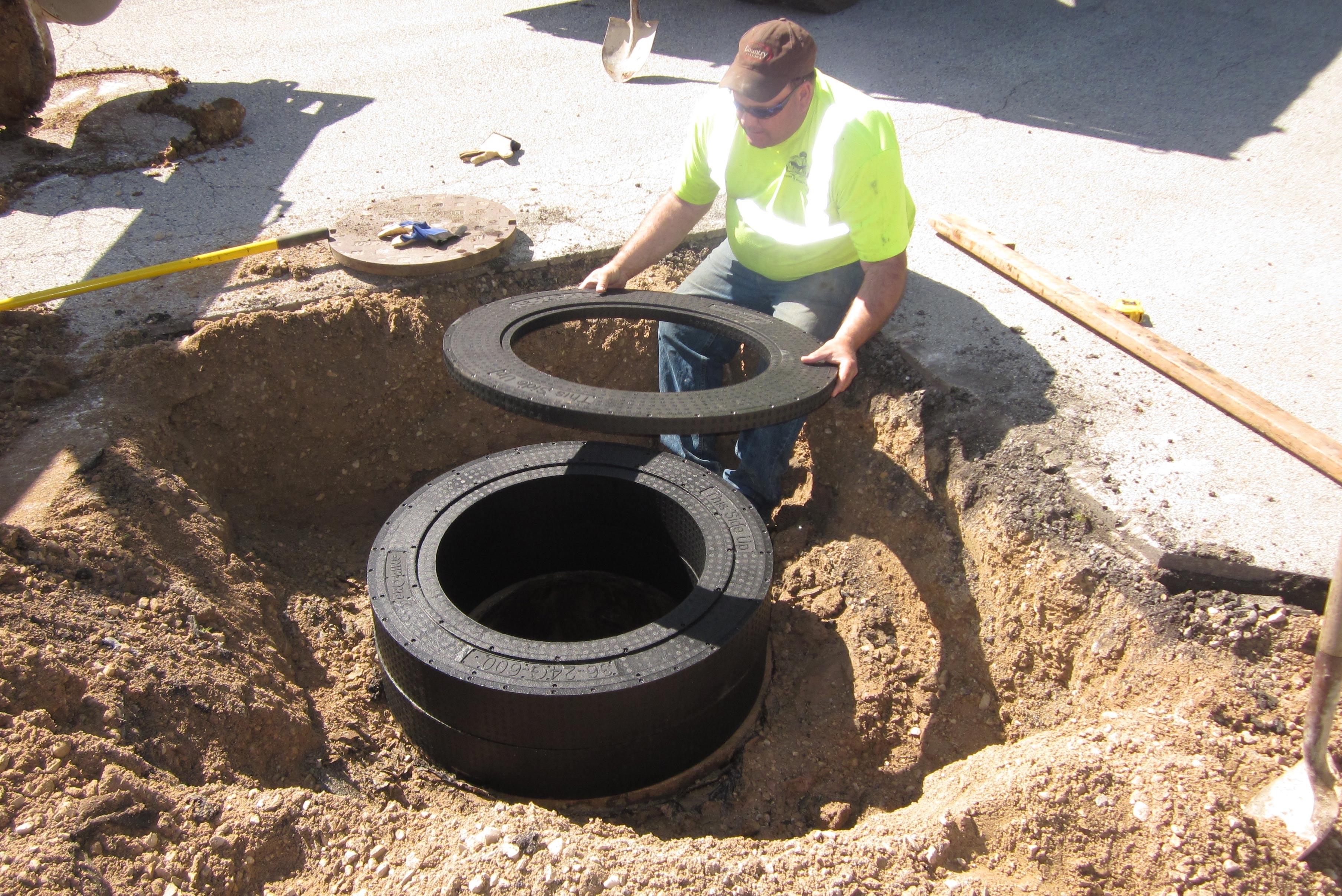 PRO-RING™, Concrete Grade Ring Alternative | Cretex