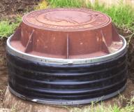X85 external chimney seal installed