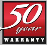 Warranty 50 Years