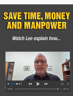 Lee H. Save time money and manpower
